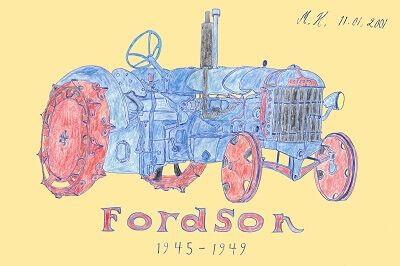 Fordson traktori taulu