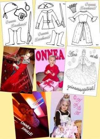 kortit prinsessalle